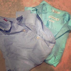 Other - Boys size 8 longsleeve button-down dress shirts